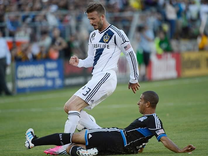 Beckham suspenso por um jogo devido a mau comportamento