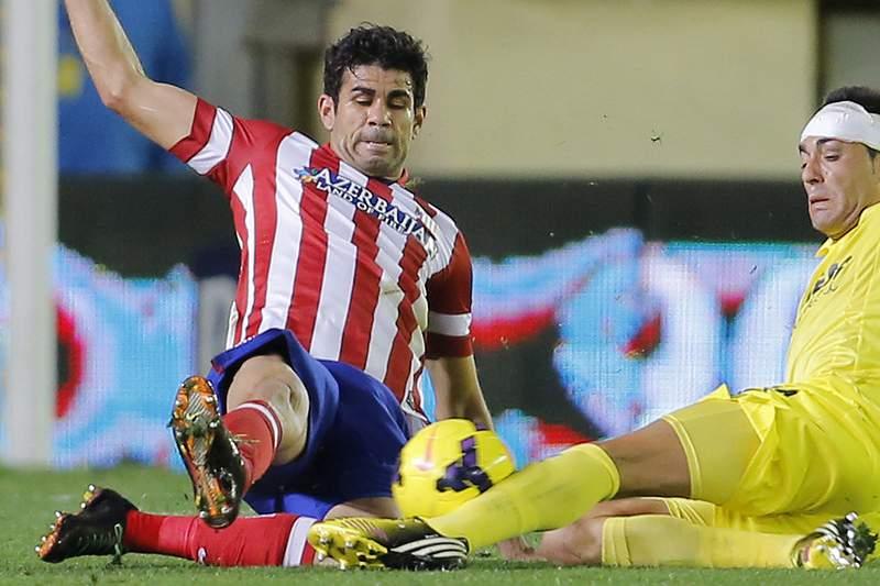 Diego Costa lesiona-se e falha estreia pela seleção de Espanha