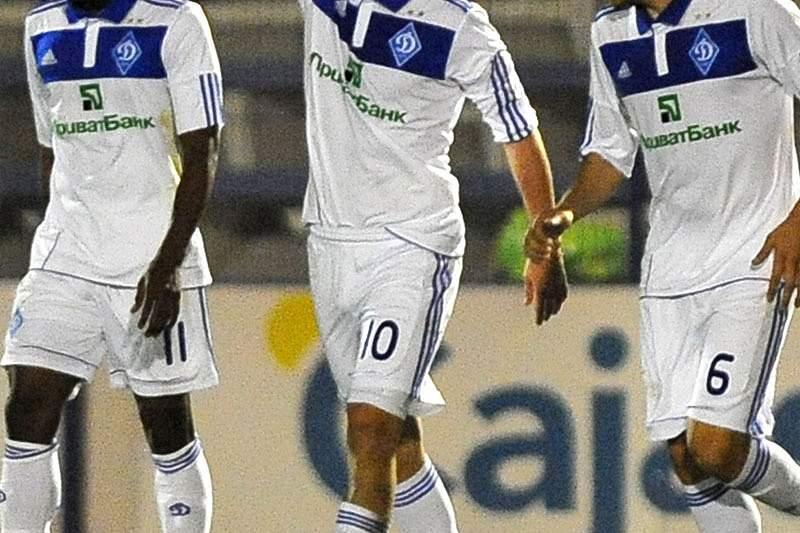 Dinamo Kiev vence na estreia do novo técnico