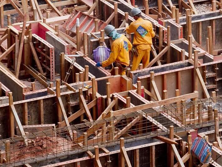 Obras nos estádios estão adiantadas 30 por cento