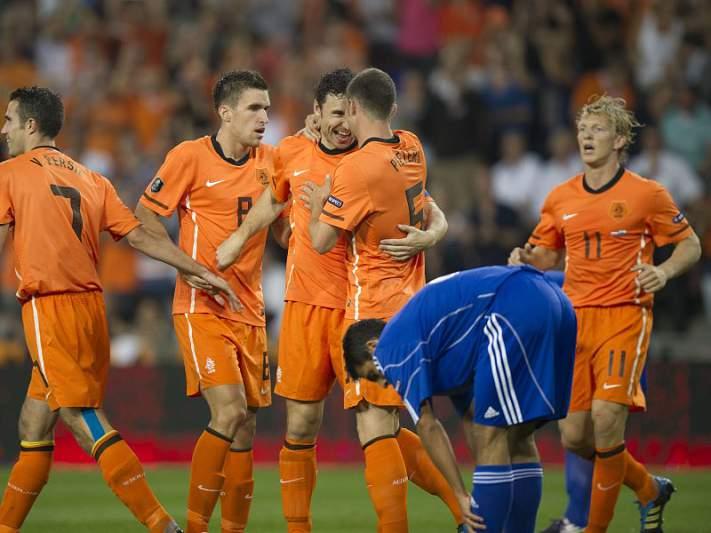 UEFA confirma apuramento da Holanda