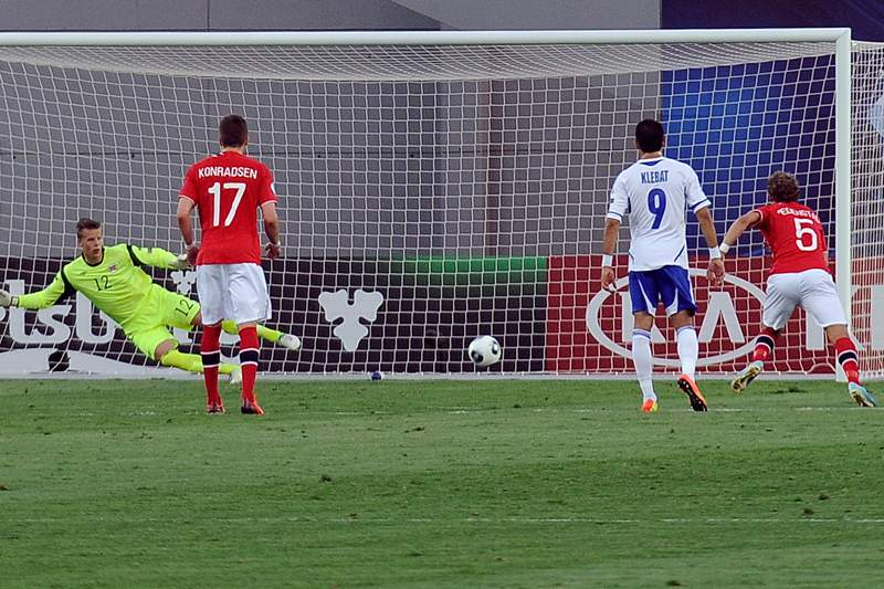 Israel e Noruega empatam na abertura do Euro Sub-21