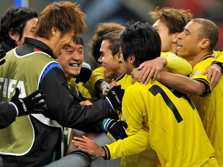 Kashiwa Reysol marca encontro com o Santos