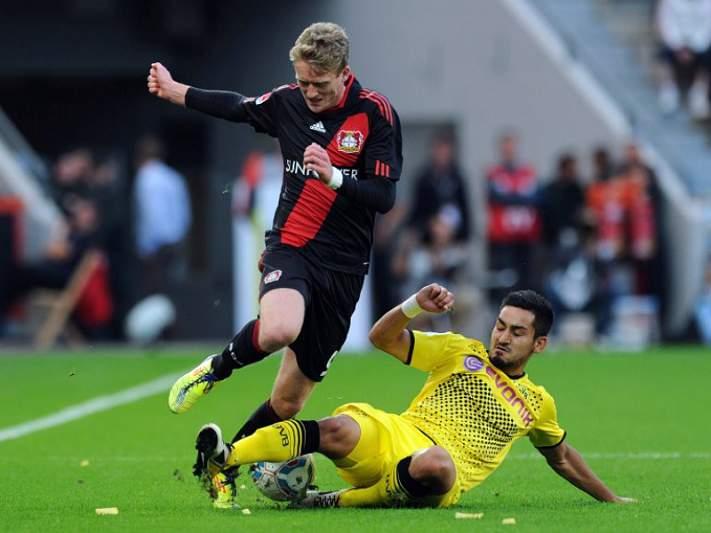 Dortmund e Leverkusen empatam a zero