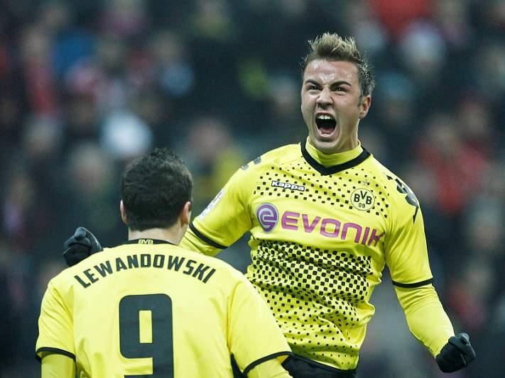 Borussia de Dortmund é o primeiro semifinalista
