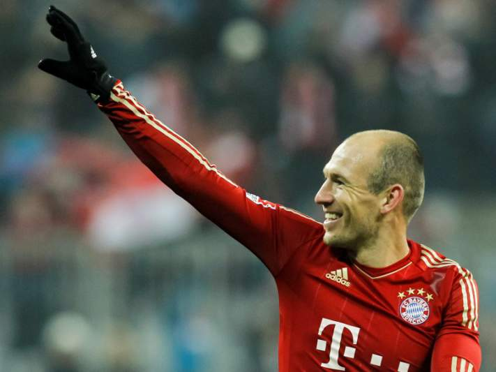 Bayern Munique quer renovar contrato com Robben