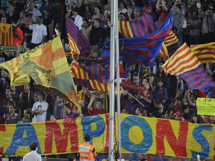 Barcelona iliba adeptos do Real Madrid
