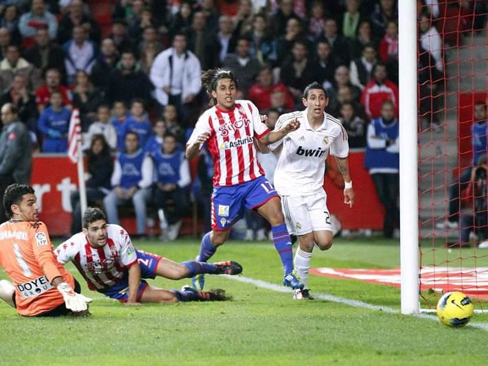 Real Madrid vence Gijon antes do