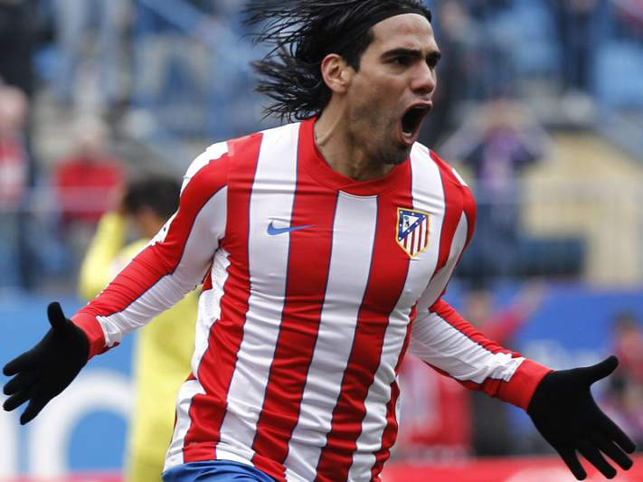 Falcao marca golo 400 do Atlético de Madrid