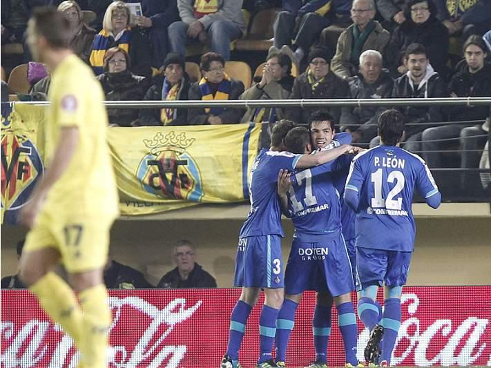Villarreal tropeça com o Getafe