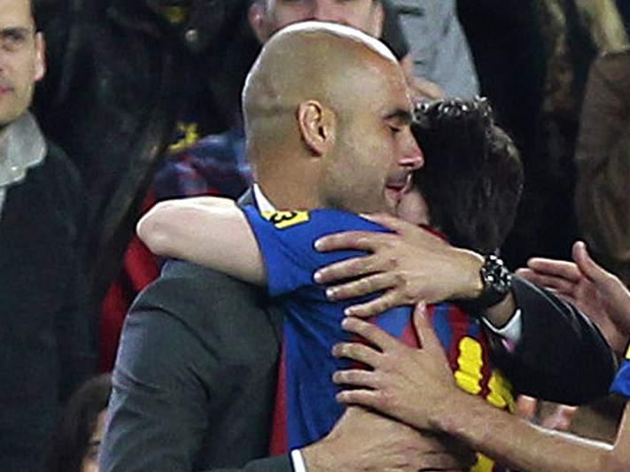 Messi sente falta de Guardiola