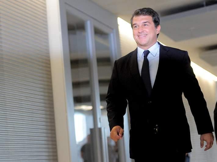 Laporta aposta em Guardiola para presidente
