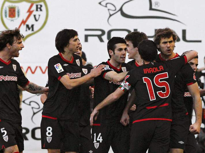 Athletic Bilbau quase na final