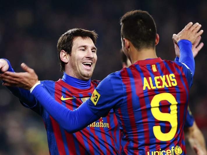 Messi dá vitória ao Barcelona