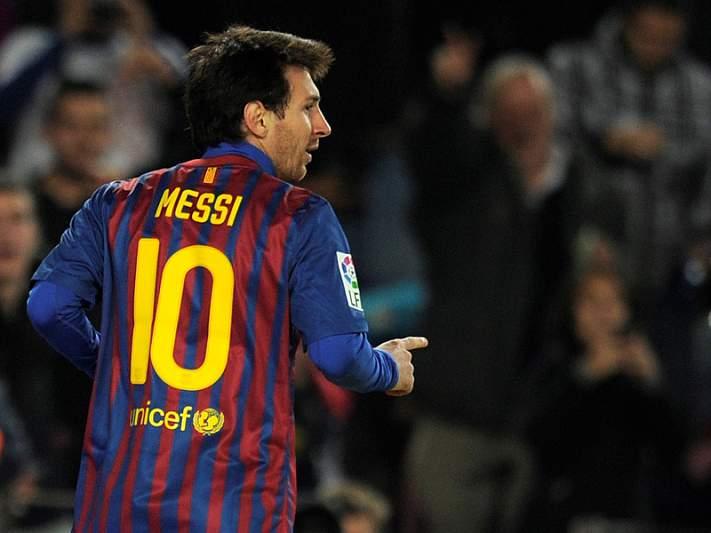 Messi nomeado para o prémio Laureus