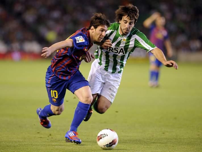 Bétis e Barcelona empatam no fecho da liga
