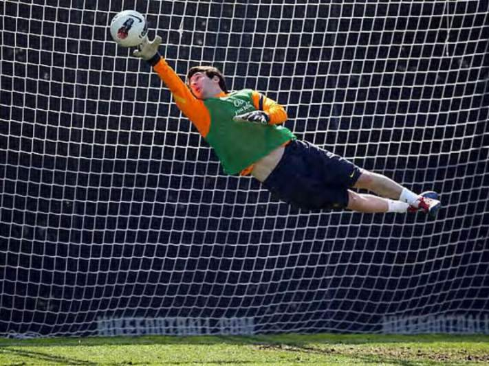 Messi brilha... a guarda-redes