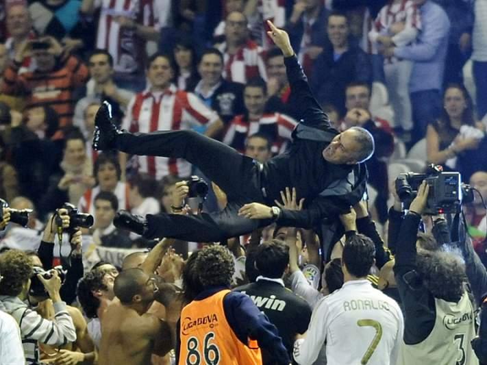 Mourinho é rei na imprensa espanhola