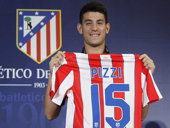 Pizzi estreia-se pelo Atlético de Madrid