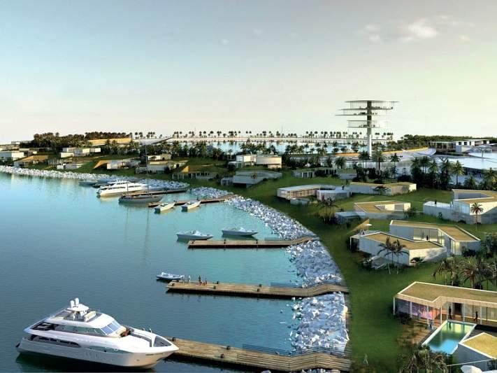 Um resort Real