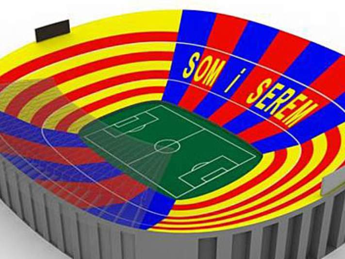 Camp Nou vai vestir-se de gala para receber o Real