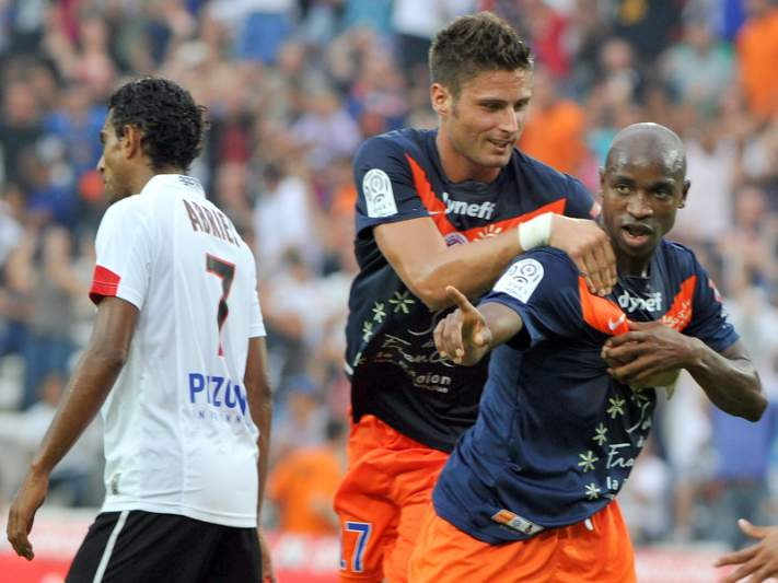 Montpellier vence Nice e comanda isolado