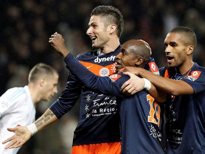 Montpellier cola-se ao PSG na liderança