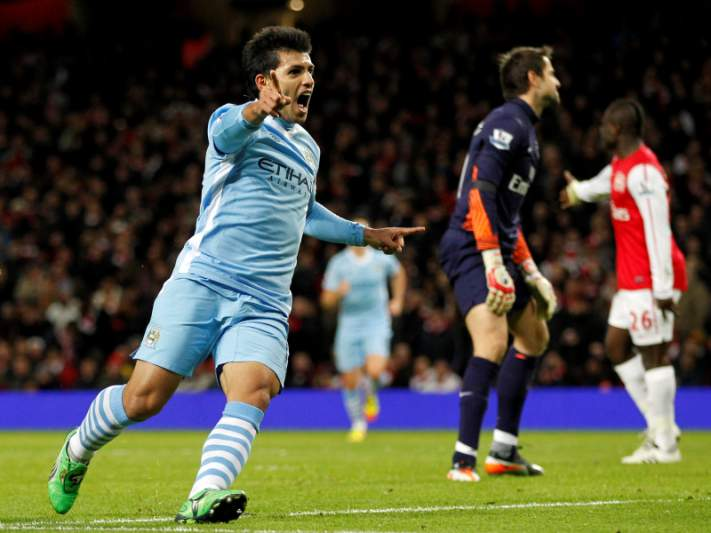 Arsenal eliminado pelo Manchester City