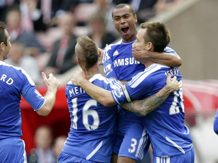 Raul Meireles marca na vitória do Chelsea em Birmingham
