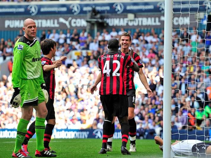 Manchester City goleia Tottenham