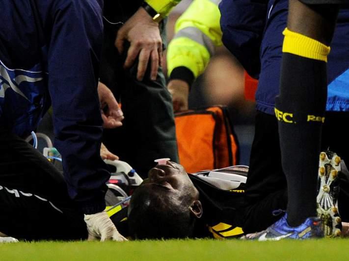 Fabrice Muamba «estável» segundo Sky Sports