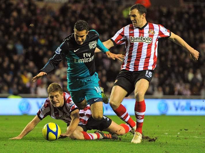Arsenal eliminado da Taça pelo Sunderland
