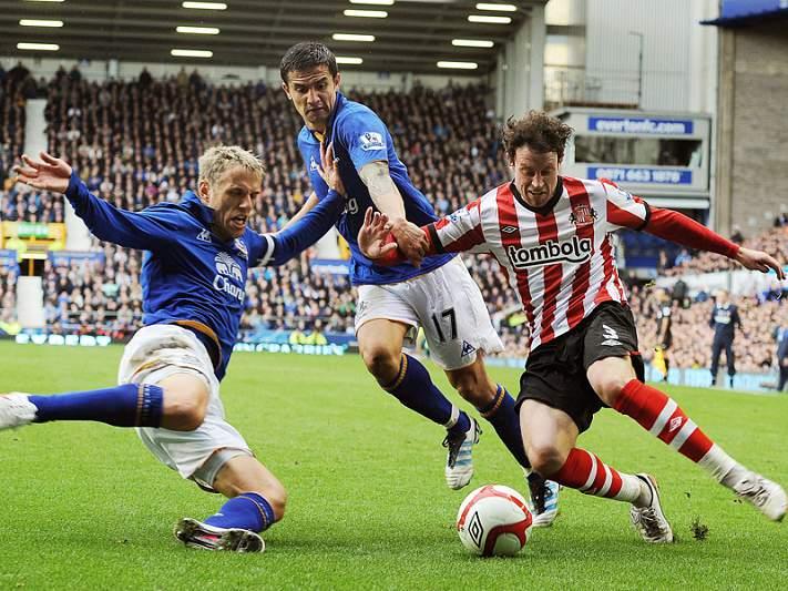 Sunderland e Everton empatam
