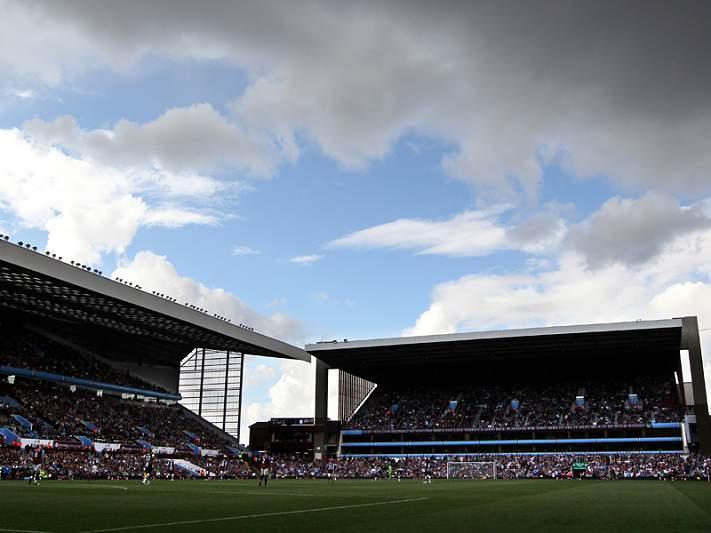Supertaça irá jogar-se em Villa Park