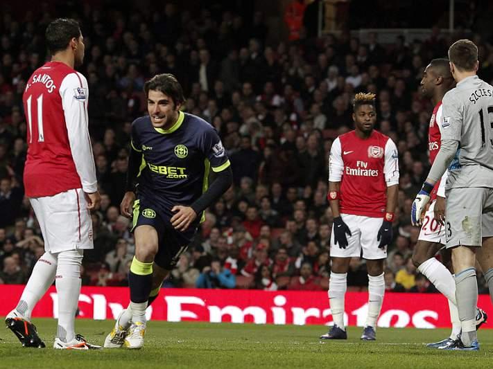 Wigan surpreende Arsenal