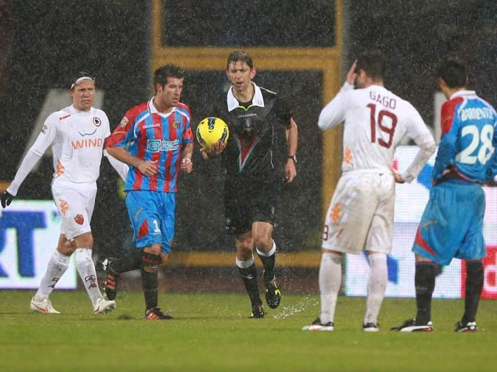 Catania e AS Roma completam jogo interrompido sem alterar resultado