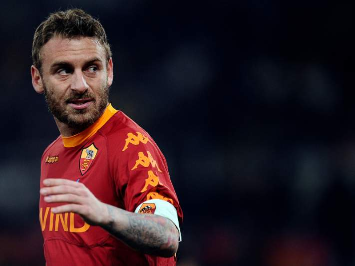 Roma recusou proposta do Chelsea por De Rossi