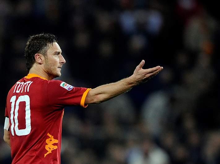 Totti 'ameaça' deixar AS Roma