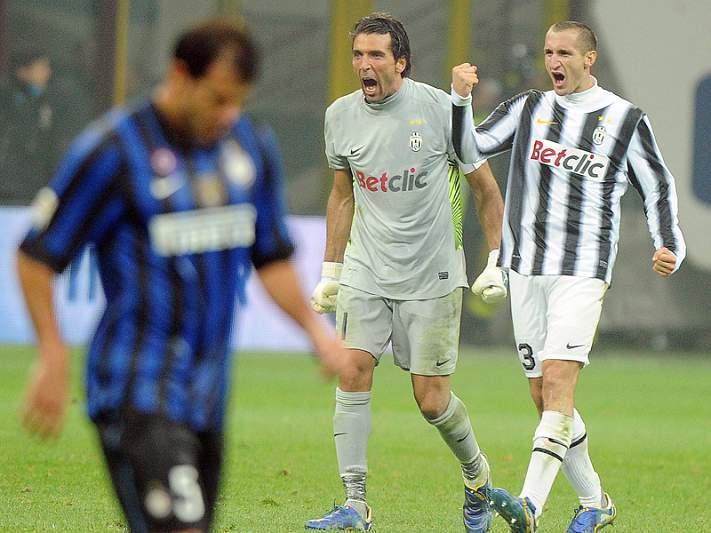 Juventus afunda Inter