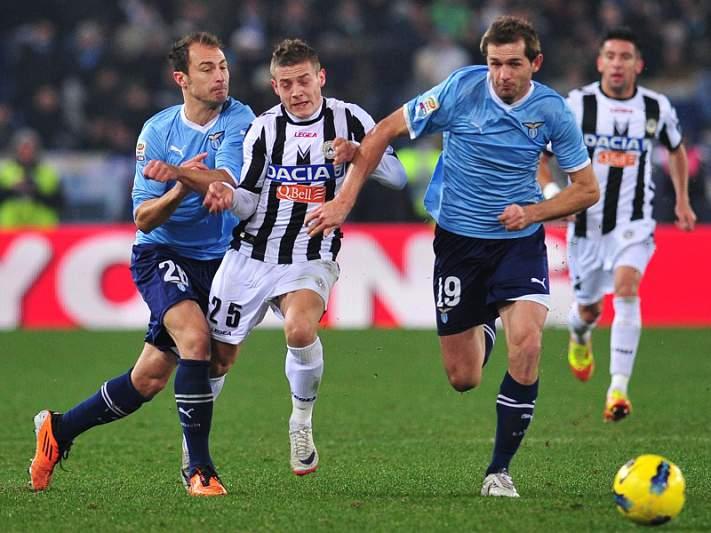 Udinese empata com a Lazio e deixa Juventus sozinha na frente