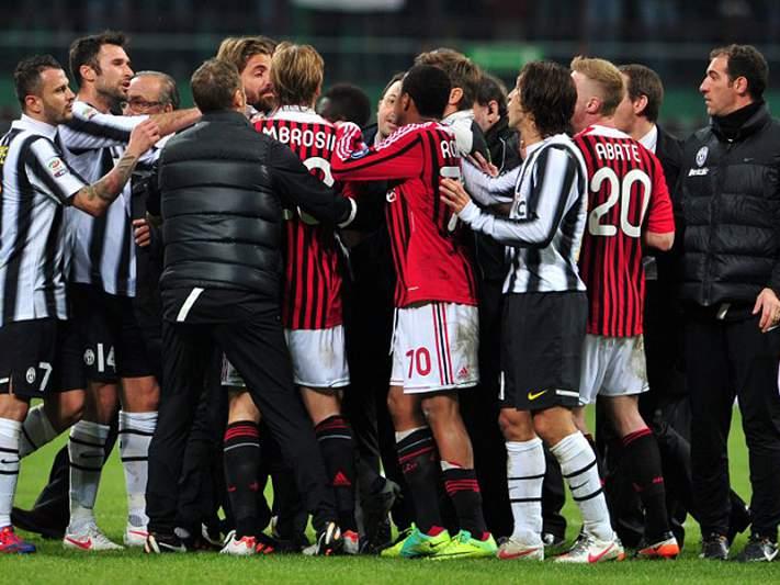 AC Milan e Juventus empatam, em jogo de