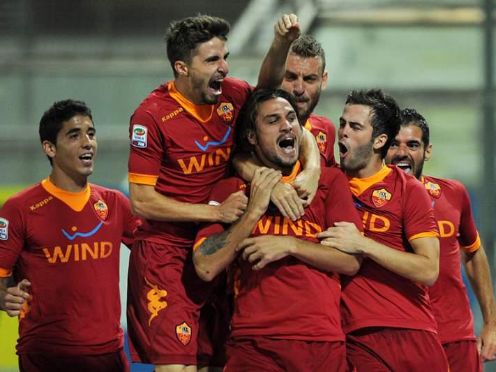Roma ganha e relança-se na luta pelo terceiro lugar
