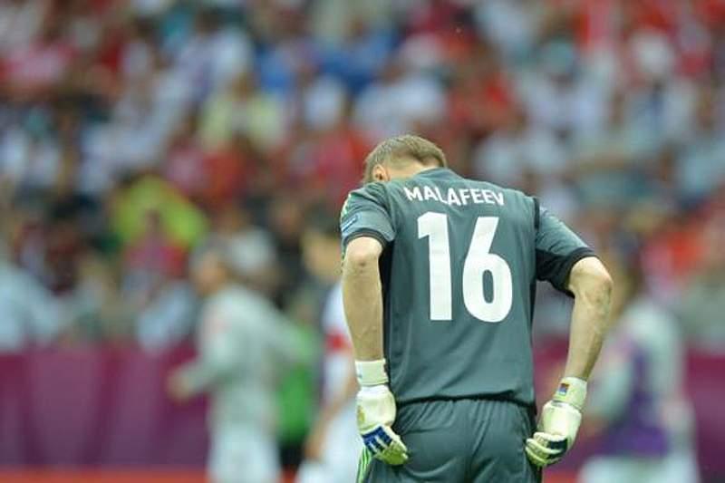 Malafeev retira-se temporariamente da seleção