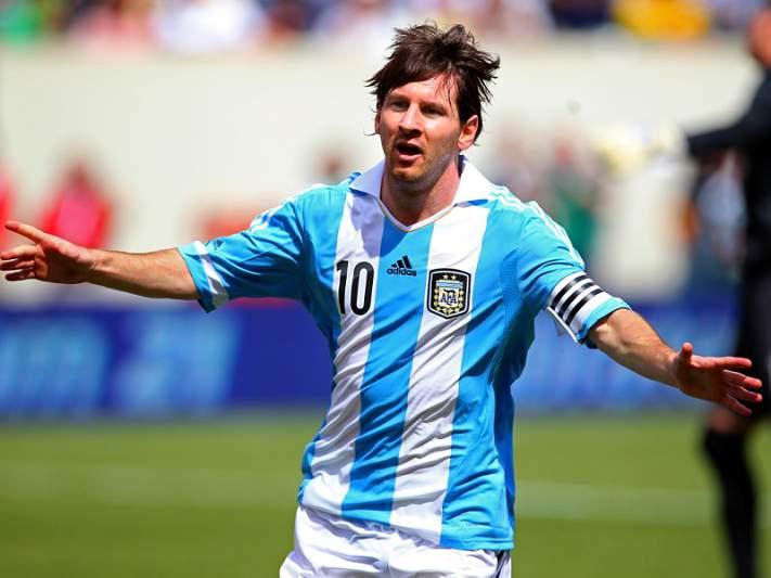 Messi poderá sofrer de pubalgia