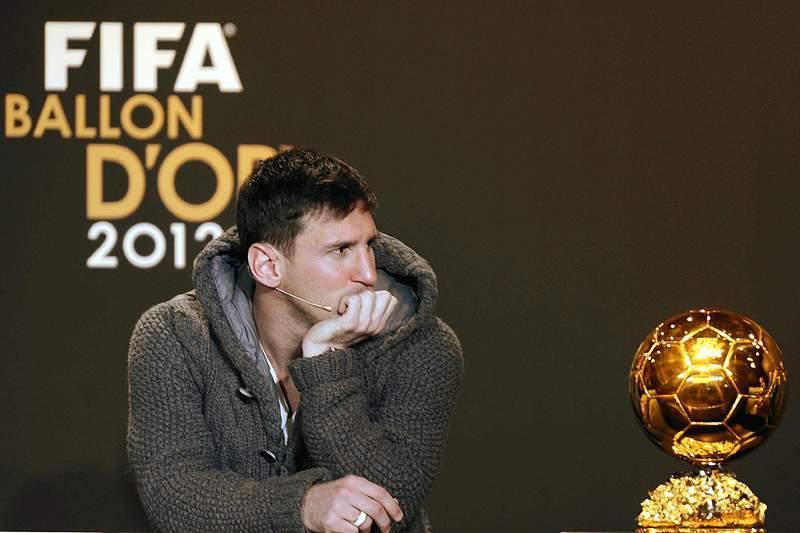 Messi diz que 2012 não foi o seu melhor ano