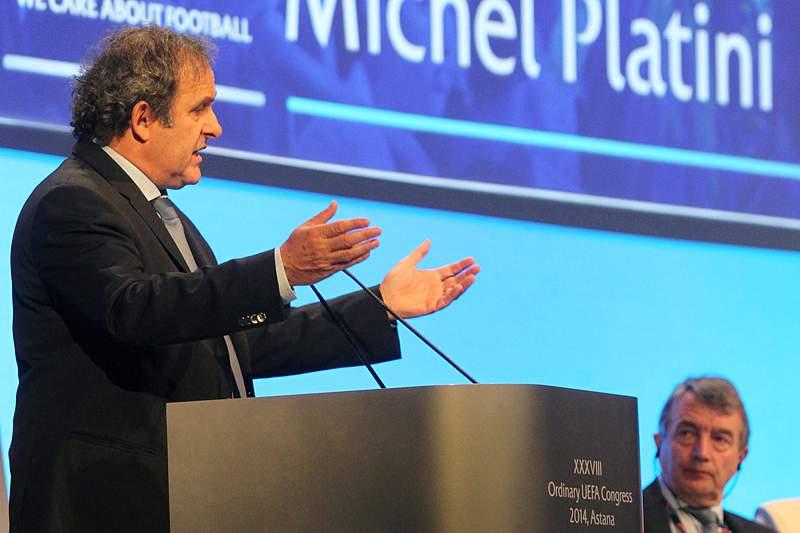 Platini nega envolvimento em escândalo de corrupção