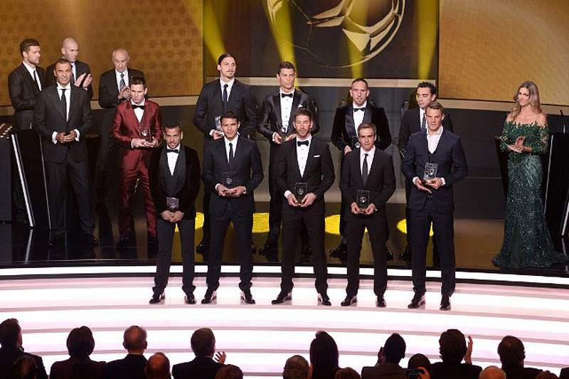 Ronaldo no onze da FIFA