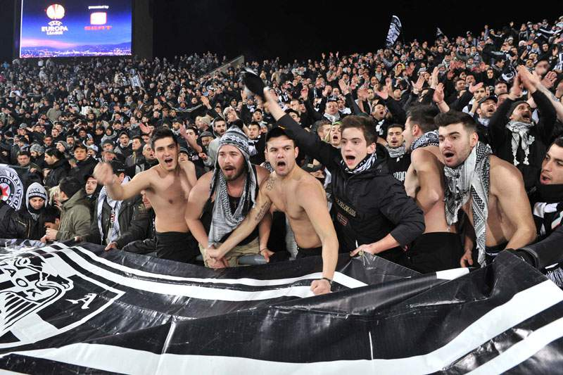 "PAOK substitui Metalist no ""play-off"""