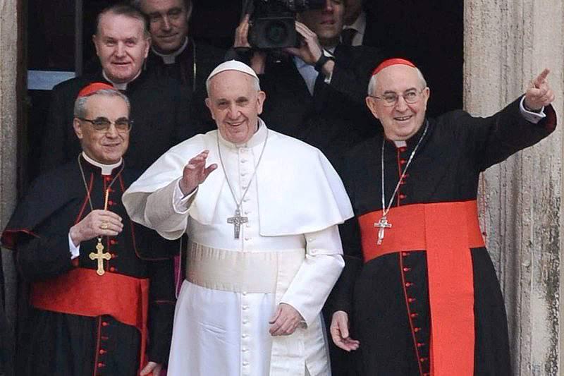 Papa Francisco recebe Itália e Argentina