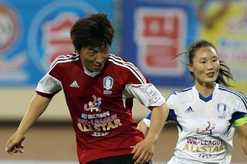 Futebolista sul-coreana é acusada de ser homem